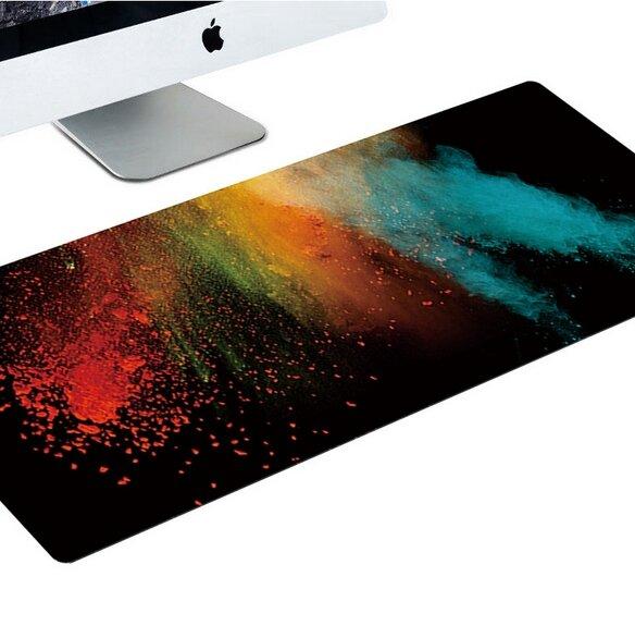 Designová podložka k PC - Barevný prach