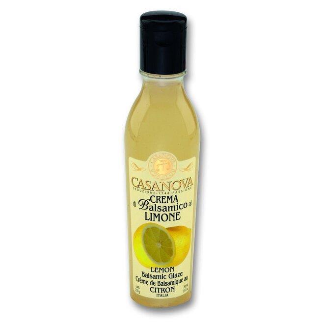 Crema di Balsamico glazé, 220 g – citron