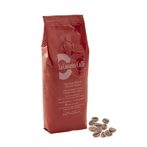 Zrnková káva Espresso Italiano (červená směs), 250 g