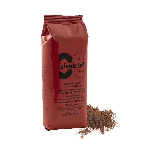 Mletá káva Espresso Italiano (červená směs), 250 g