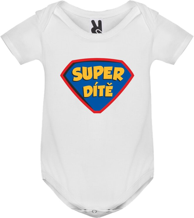 Body tričko Super dítě