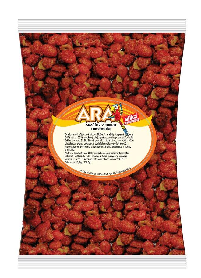 Arašídy v cukru, 1000 g