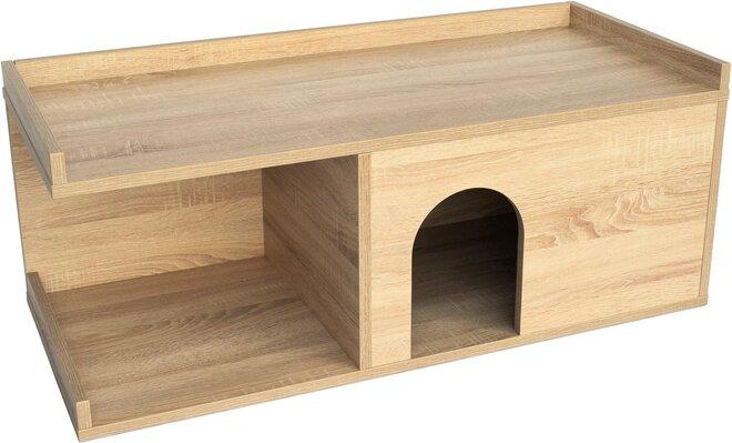 Psí bouda do bytu, dubová
