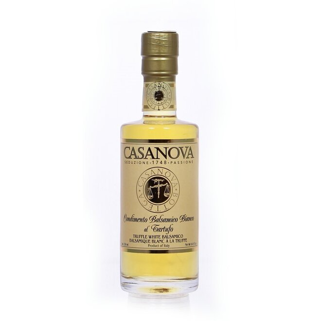 Balsamikový ocet bílý s lanýžovým aroma, 250 ml
