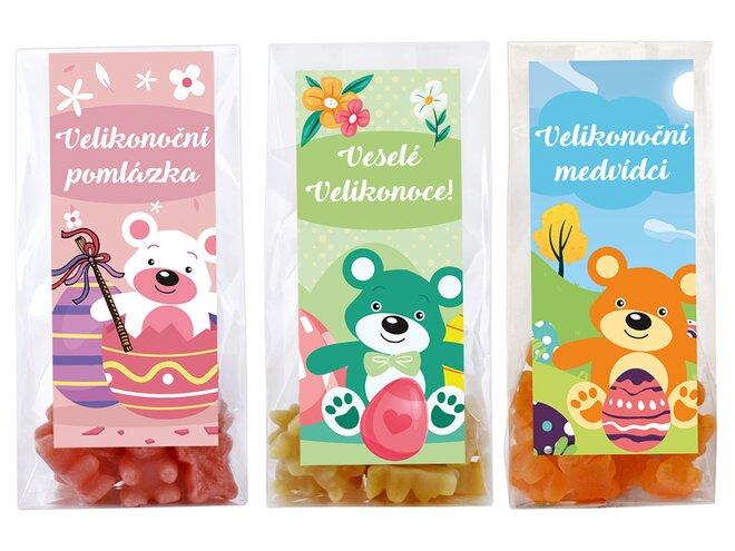 Velikonoční balení 6 originálních čajových medvídků