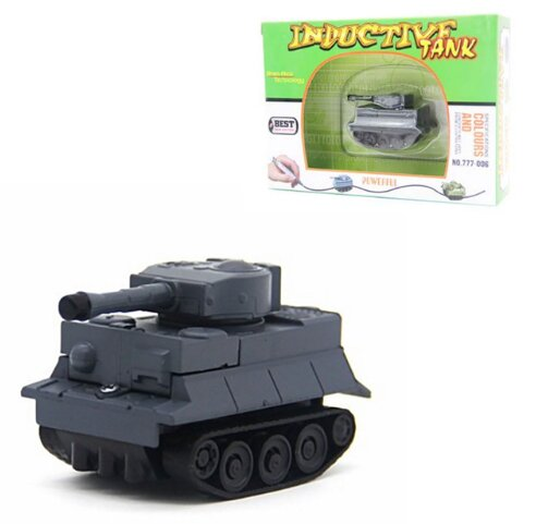 Tank šedý