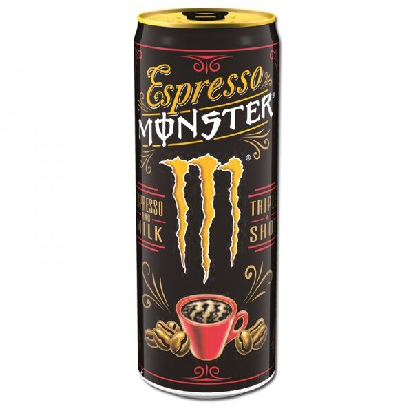 1x Espresso Monster Milk Energy Drink ( 250 ml)