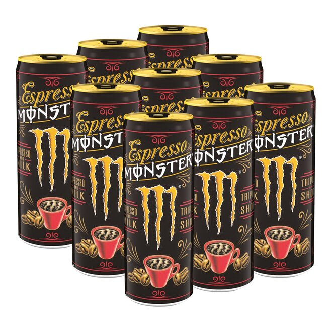 9x Espresso Monster Milk Energy Drink (à 250 ml)