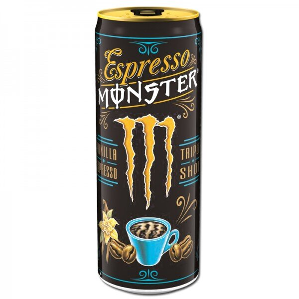 1x Espresso Monster Vanilla Energy Drink ( 250 ml)