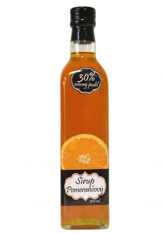 Sirup pomerančový (500 ml)