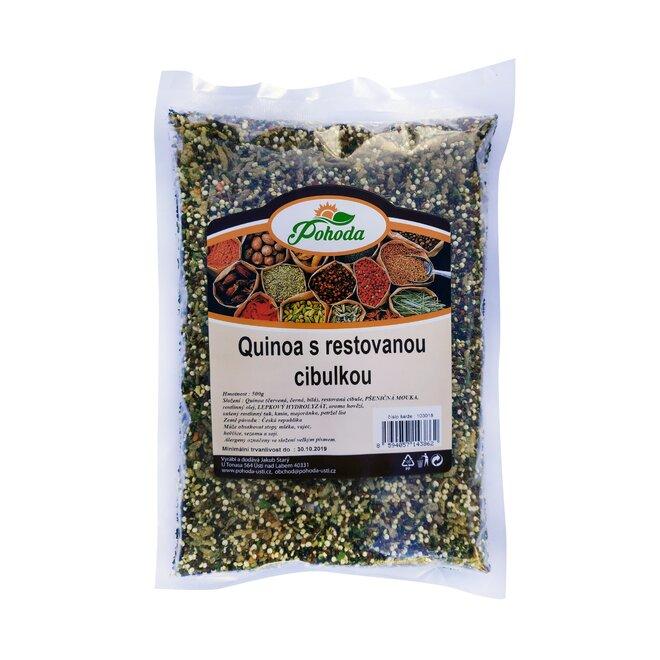 Quinoa s restovanou cibulkou, 500 g