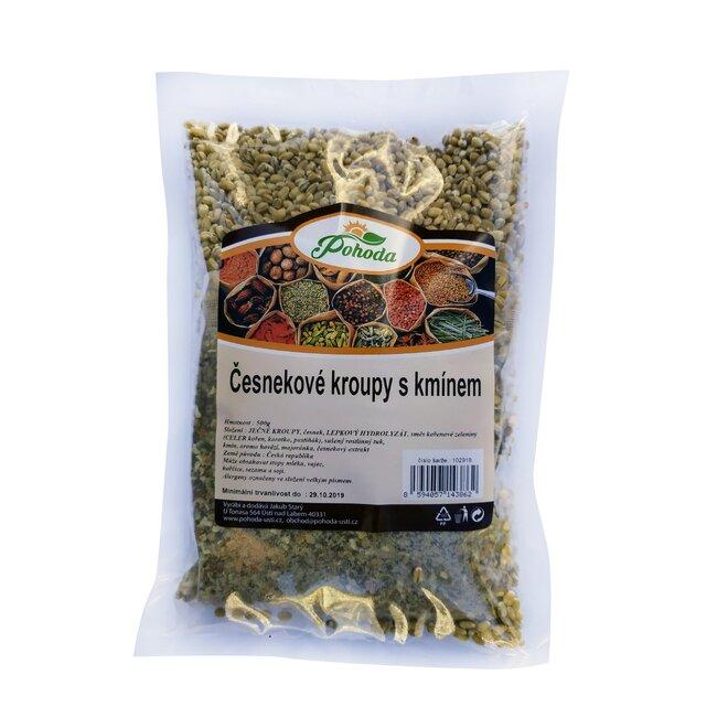 Česnekové kroupy s kmínem, 500 g