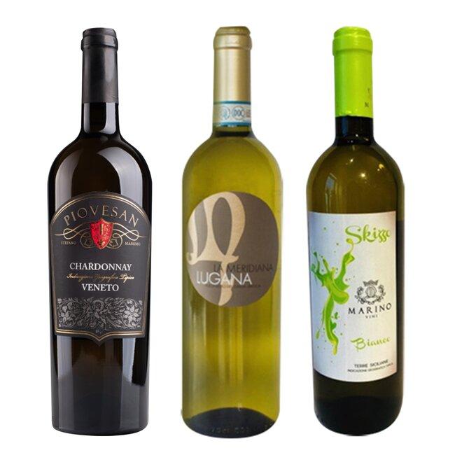 Set 3 lahví bílého vína