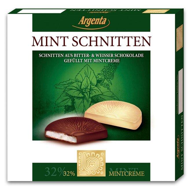 Argenta mátové řezy v čokoládě, 95 g