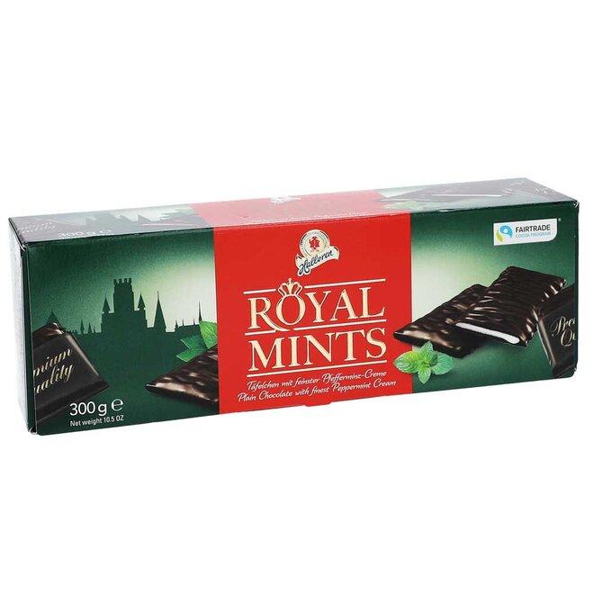 Halloren královské mátové řezy v čokoládě, 300 g