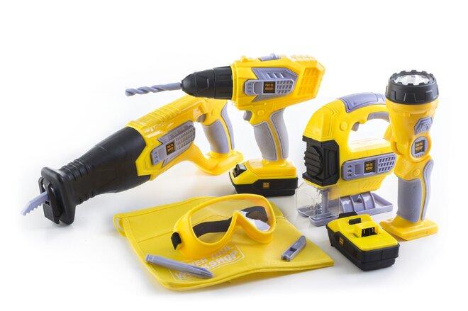 Sada nářadí na baterie G21 Deluxe Tools, 10 dílů