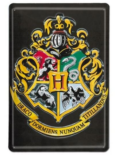 Cedule na zeď - Hogwarts (Bradavice)