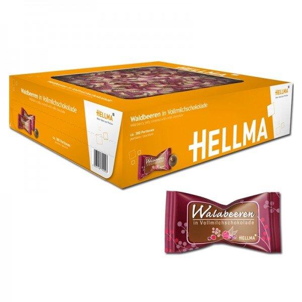 Hellma lesní plody v mléčné čokoládě - 380 ks