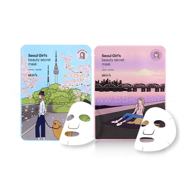 2x pleťová maska: Wrinkle Care + Vitality