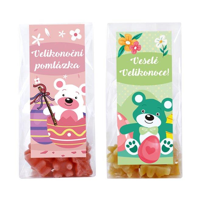 Velikonoční balení 2 originálních čajových medvídků