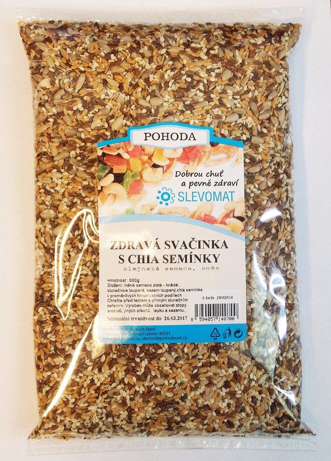 Zdravá svačinka - S chia semínky, 500 g
