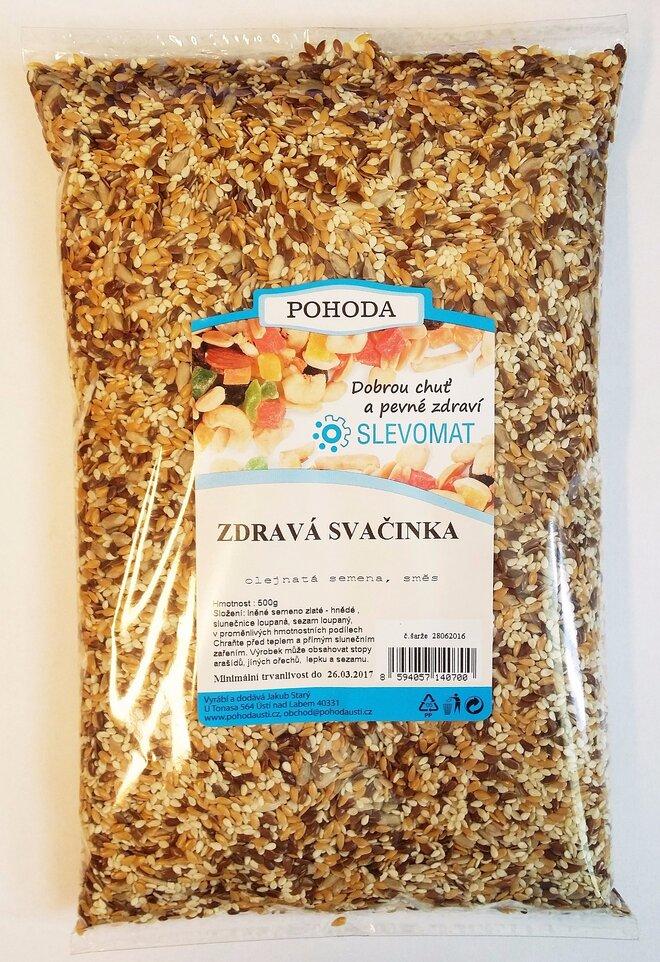 Zdravá svačinka - Směs olejnatých semínek, 500 g