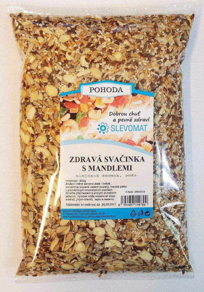 Zdravá svačinka - S mandlemi, 500 g
