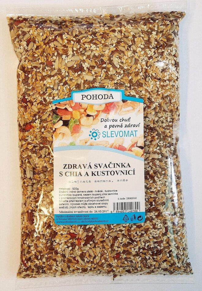 Zdravá svačinka - S chia semínky a kustovnicí (goji), 500 g