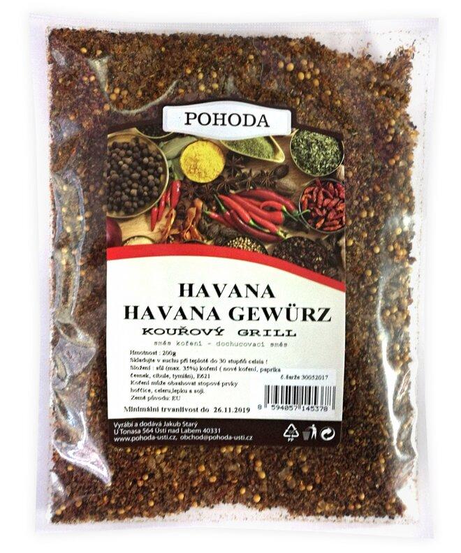 Havana - kouřový grill, 200 g