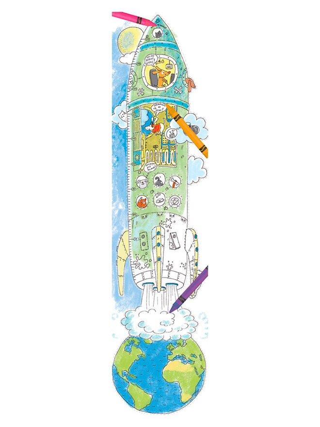 Veselý metr – Raketa k vymalování
