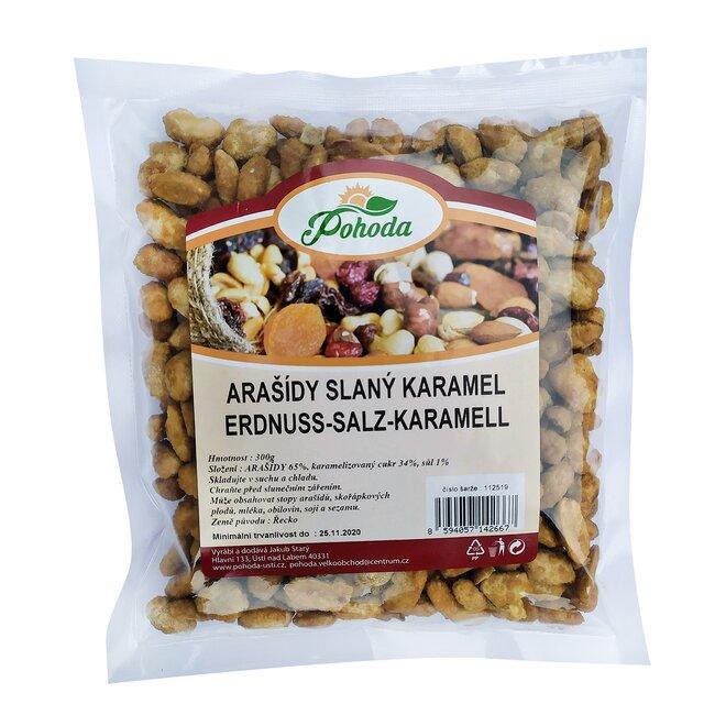 Arašídy slaný karamel, 300 g