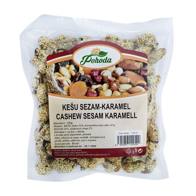 Kešu sezam a karamel, 300 g