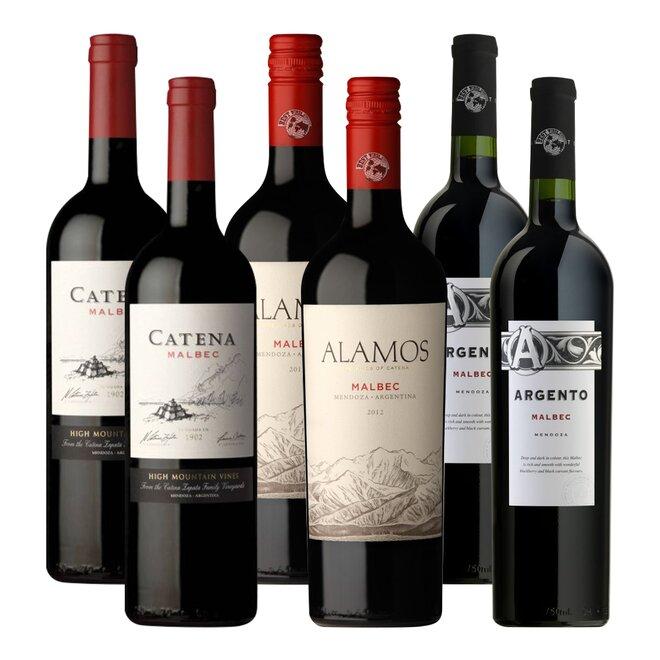 Mix 3 druhů vína odrůdy Malbec