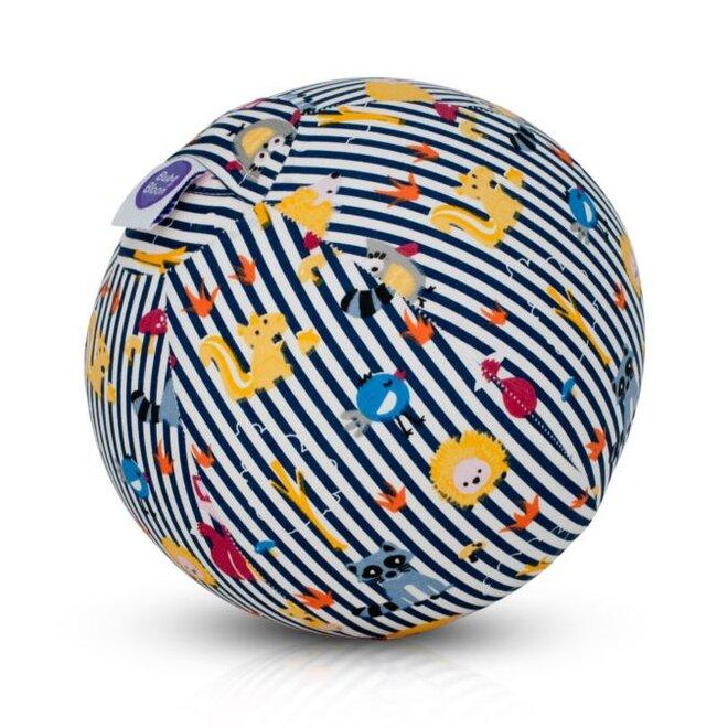 Buba Bloon - míč se zvířátky modré pruhy