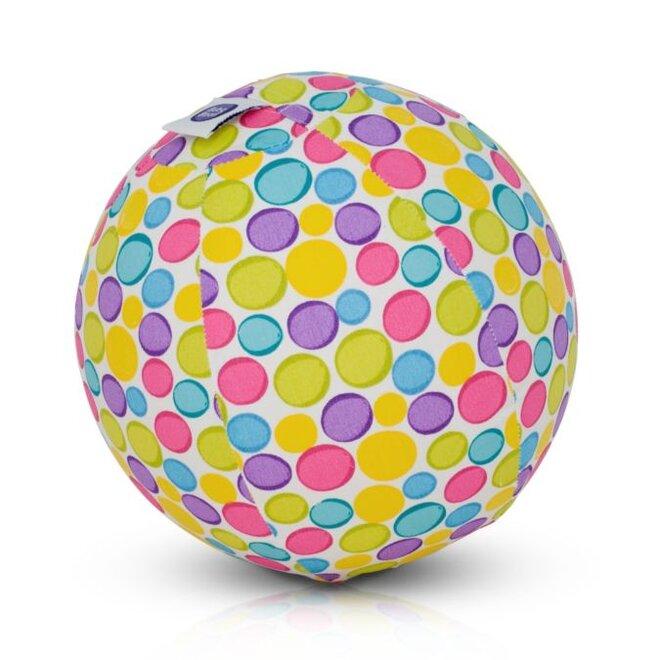 Buba Bloon - míč s barevnými pastelovými puntíky