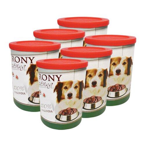 Pro psy: 6× Rony zvěřina, 400 g