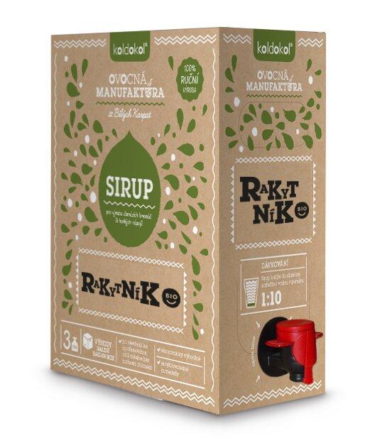 Bio sirup – Rakytník (3 kg)
