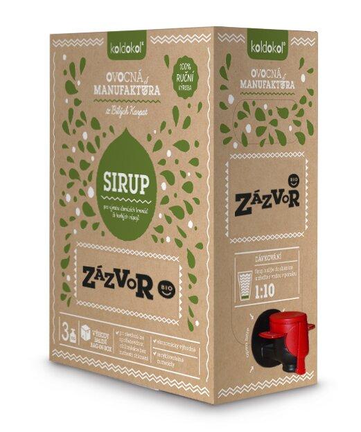 Bio sirup – Zázvor (3 kg)