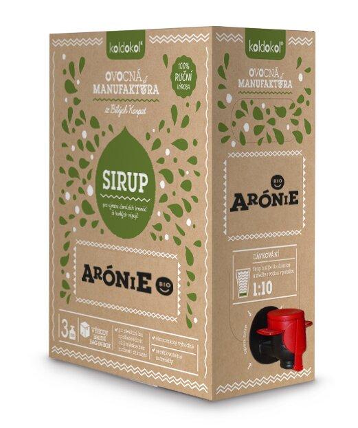 Bio sirup – Arónie (3 kg)