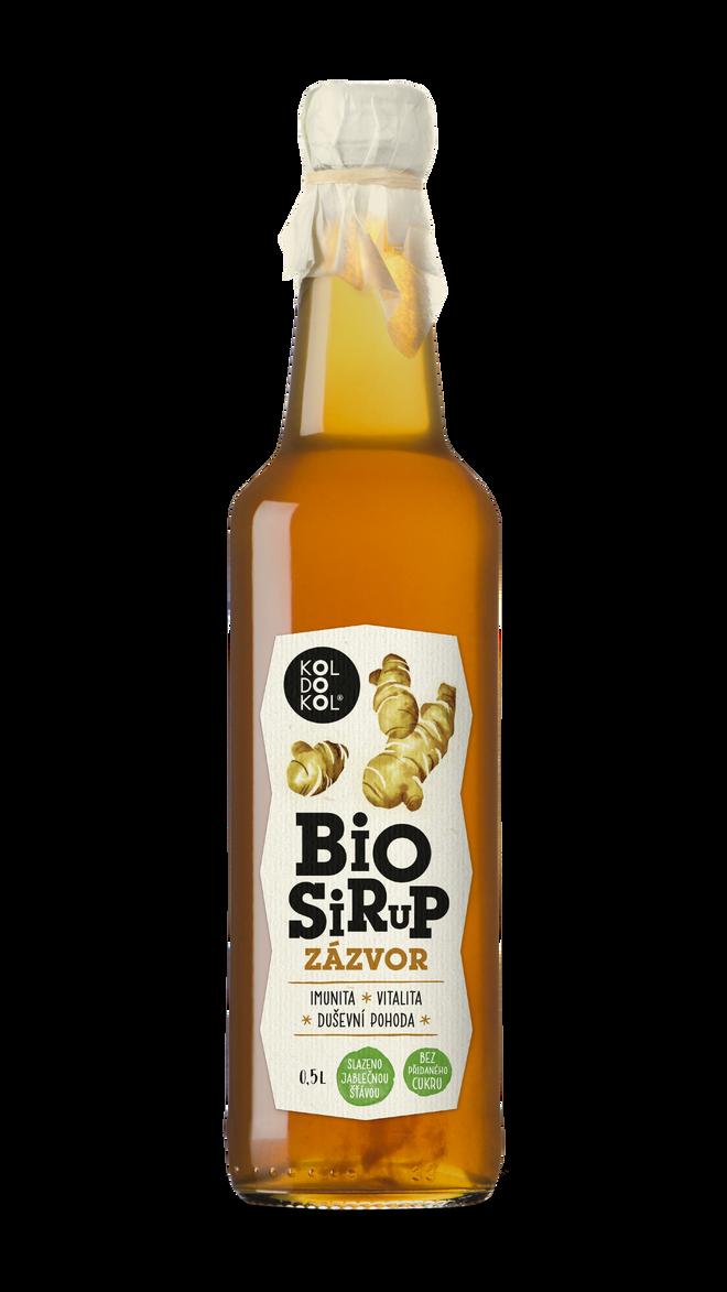 Bio sirup – Zázvor (500 ml)