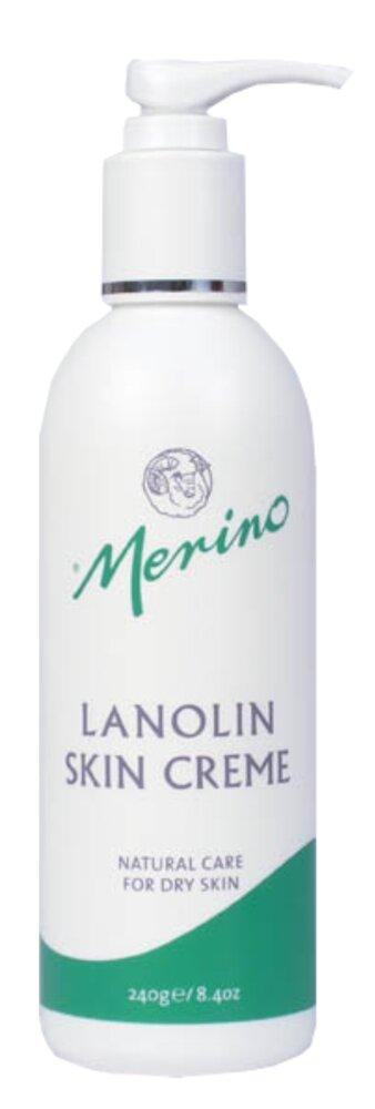 Merino Lanolin Creme v lahvičce s pumpičkou, 240 g