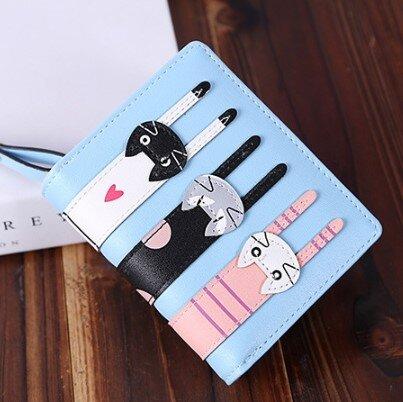 Dámská peněženka – kočky – malá