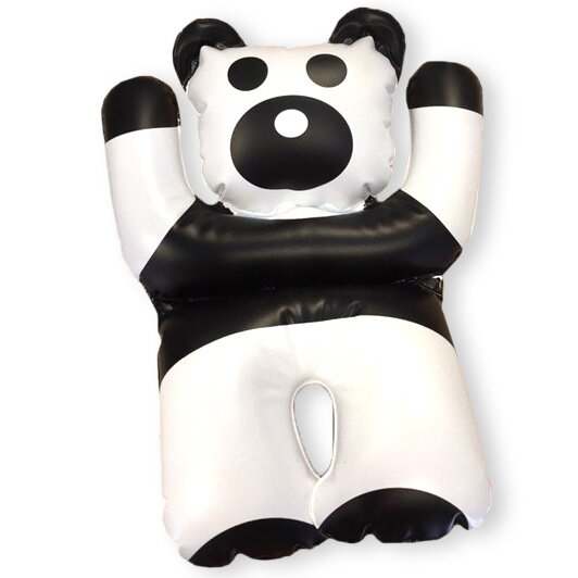 Černobílý medvídek