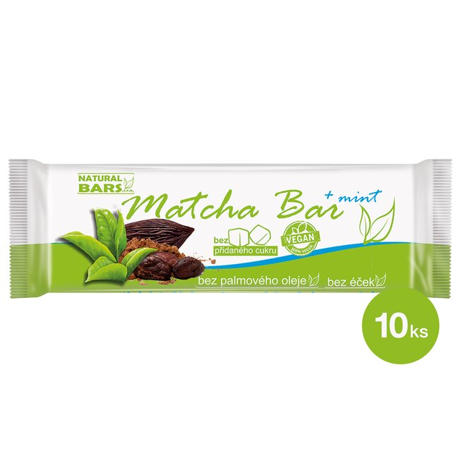 Matcha Bar – mint (10 ks)