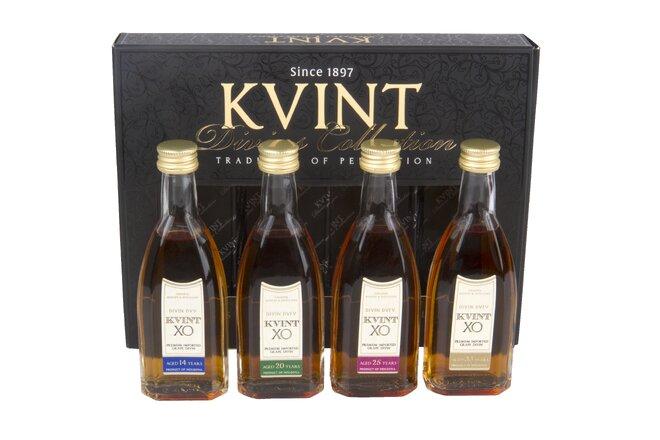 Moldavská brandy KVINT (14-33y) / dárkový box