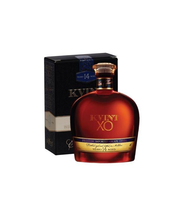 Moldavská brandy KVINT 14y s krabičkou