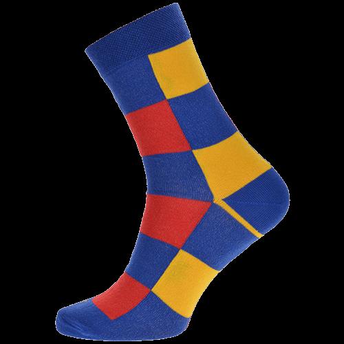 Ponožky - Kostky barevné