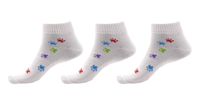 Ponožky s motivem tlapky