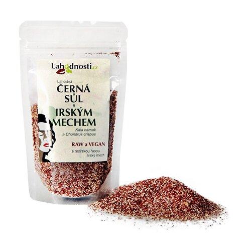 Černá sůl s irským mechem, 200 g