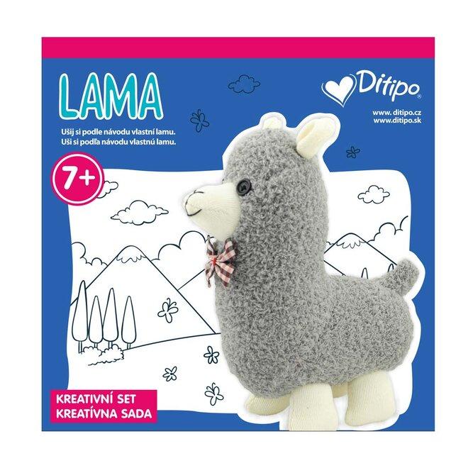 Kreativní set: lama